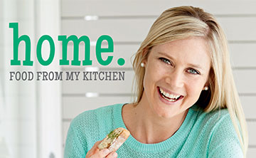 Win 1 of 3 signed copies of Sarah Graham's new Cookbook Home. Food From My Kitchen, valued at R260 each!