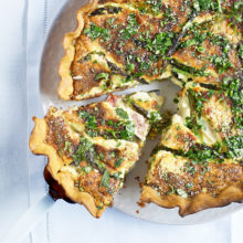 Asparagus And Ham Tart Recipe