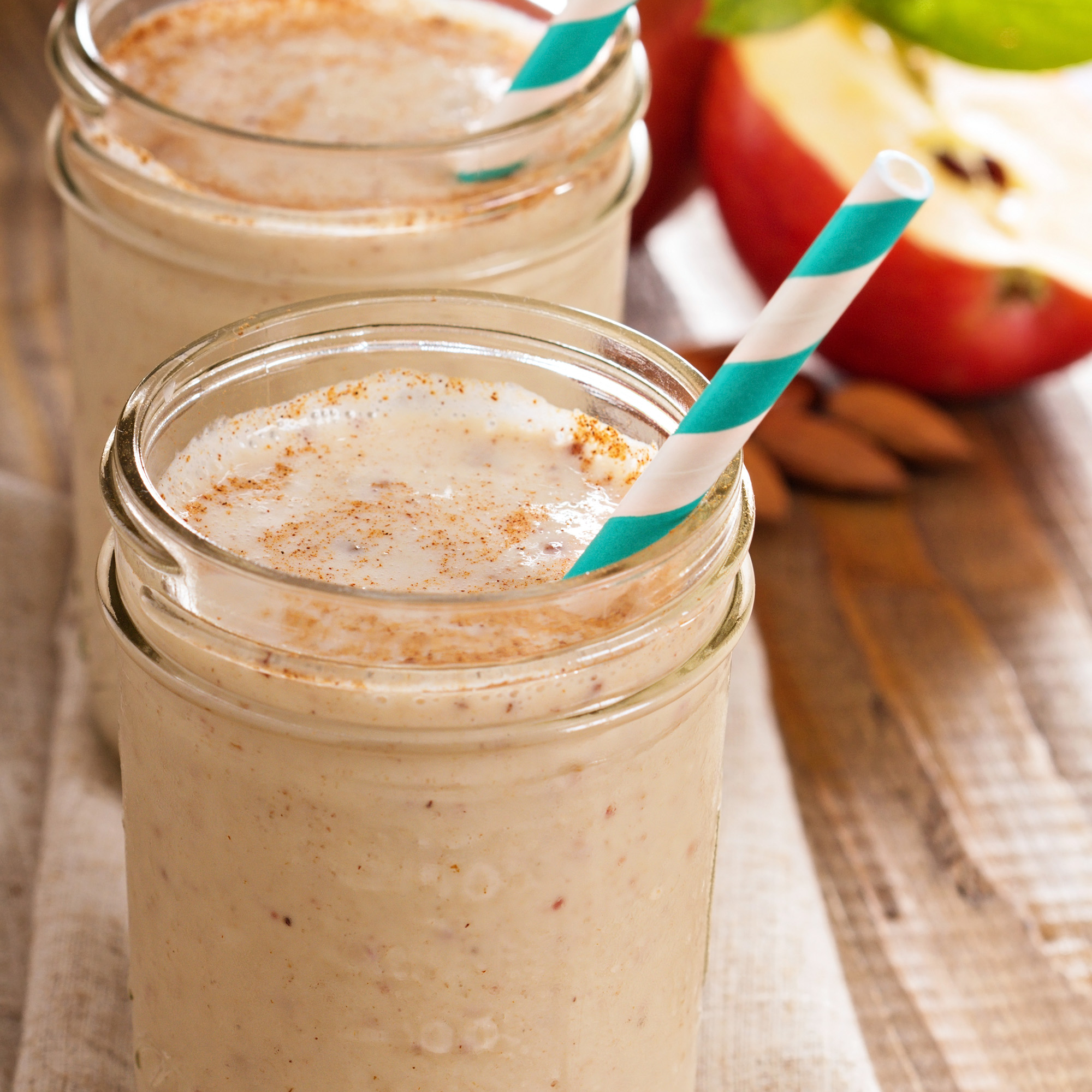 Apple and Cinnamon Nutribullet Smoothie