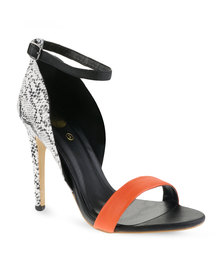 footwork-heeled Sandal Orange, R399