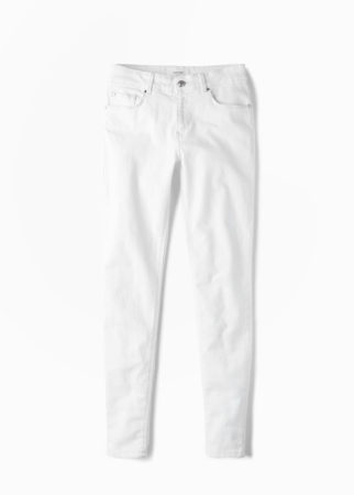 summer dressing white jeans