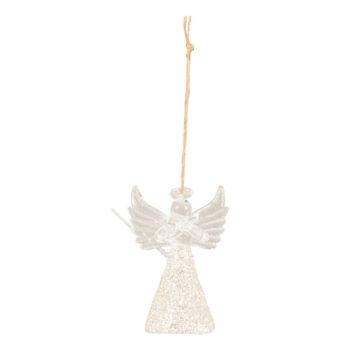 Glass Angel Christmas Bauble