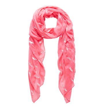 Travel capsule wardrobe scarf