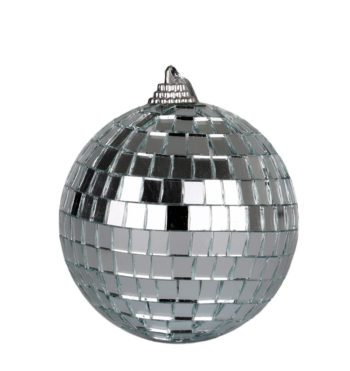 Mirror Ball Christmas Bauble