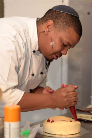 Chef patrick Ngobese from belles patisserie