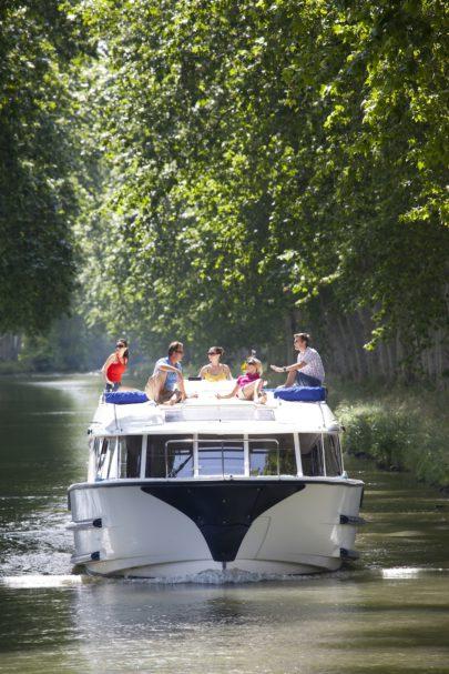 Le Boat Canal du Midi France May 2012