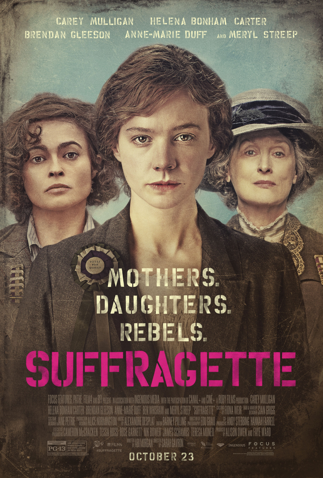 The Filming Of Suffragette