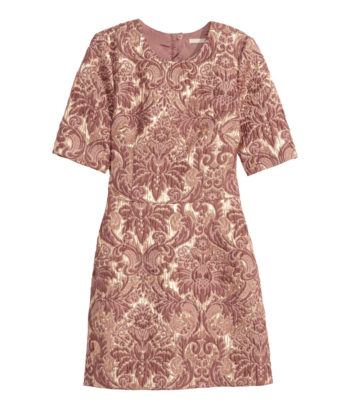 H&M Brocade dress