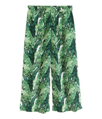 H&M Patterned Culottes