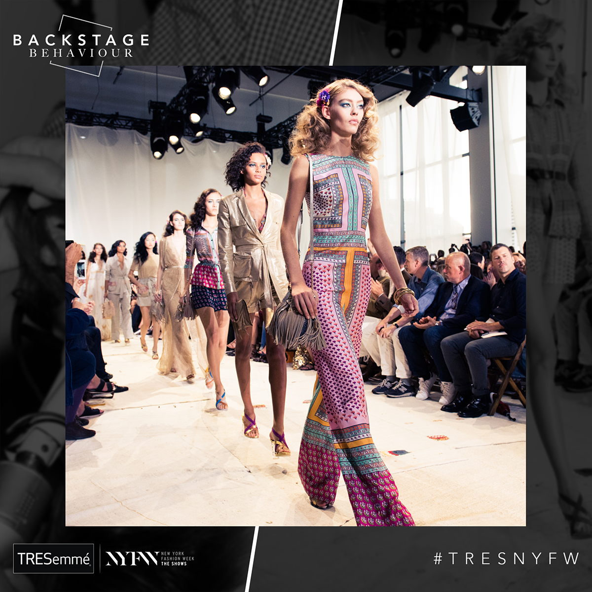 Win a trip to New York fashion week with TRESemmé