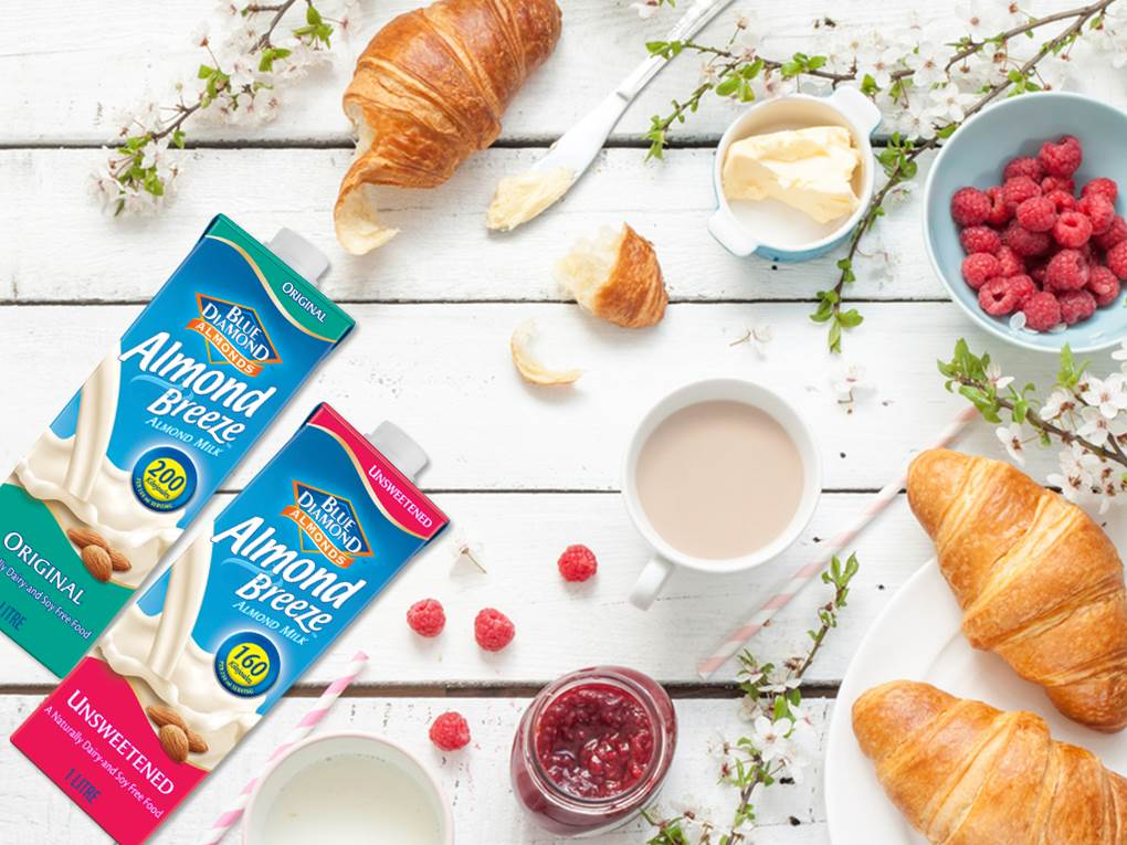 Win A Year's Supply Of Almond Breeze Almond Milk, Valued At R2 500!