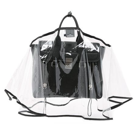 fancy handbags raincoat