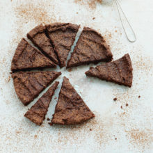Deliciously Ella's Chocolate Ganache Cake Recipe