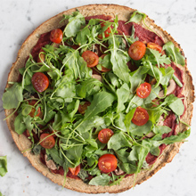 Deliciously Ella's Cauliflower Pizza