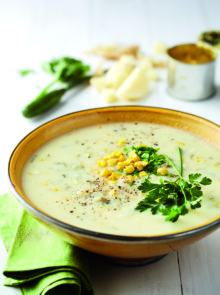Hilda Lategan's Potato And Sweetcorn Soup