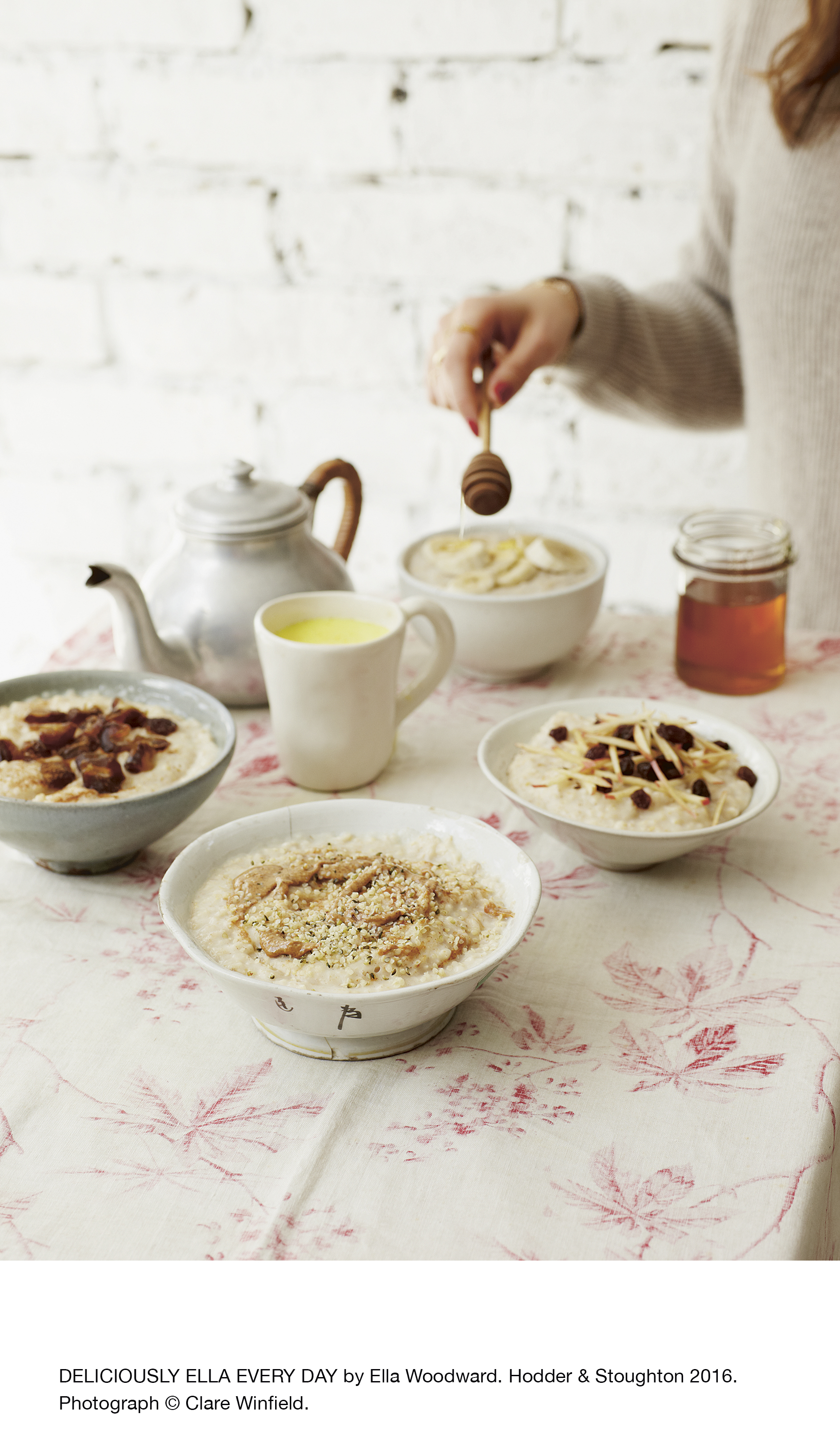 Deliciously Ella's Almond Butter And Hemp Speedy Porridge