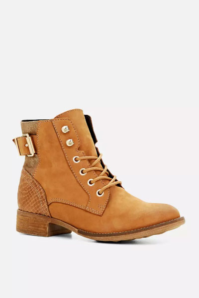 Comabt ankle boots