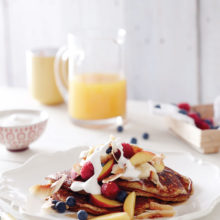 Hazelnut & Banana Pancakes