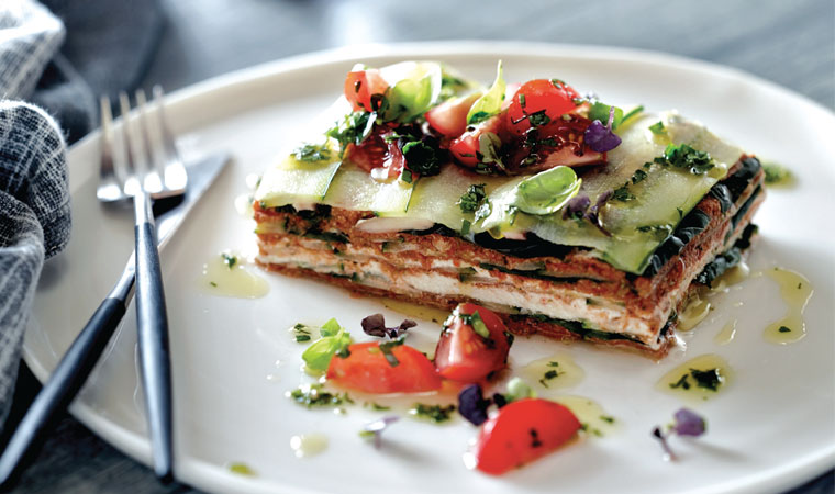 Pete Evans' Raw Courgette Lasagne