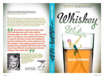 Sam Cowen's new memoir 'From Whiskey to Water' will be available this July