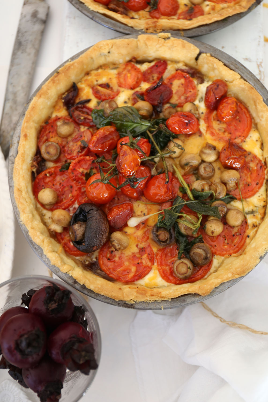 Southern Tomato Tart