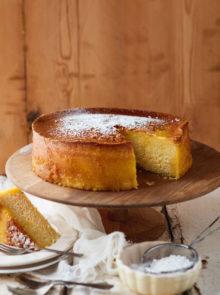 Naartjie And Cardamom Cake