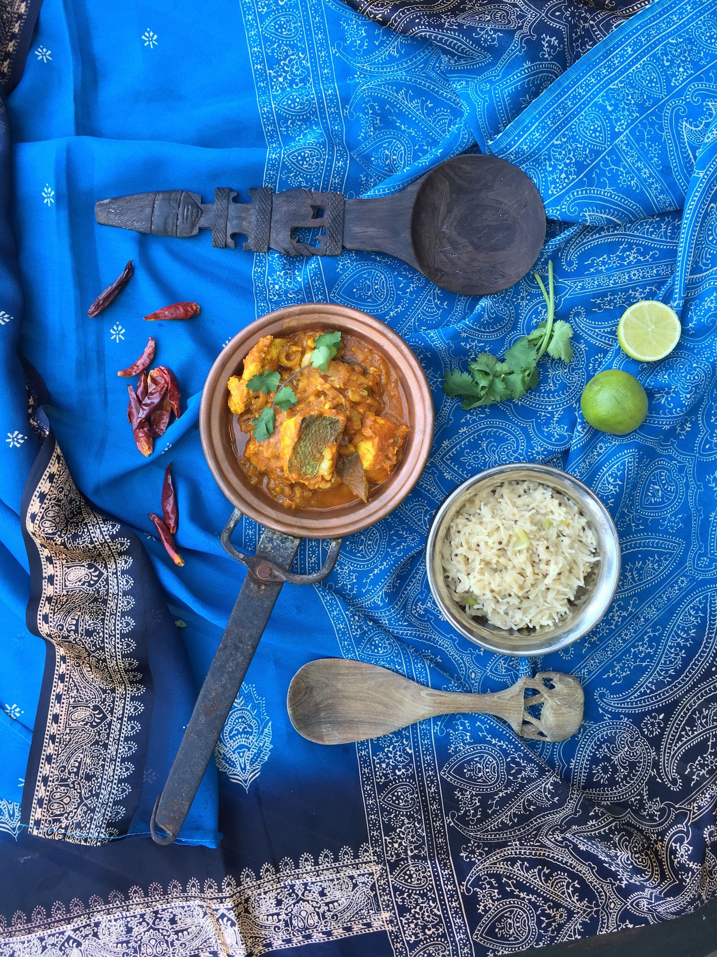 Jason Whitehead's Fish Curry