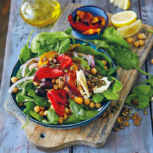 Braaied Sweet Pepper Salad Recipe