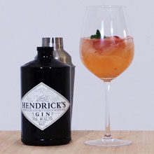 Make A Hendricks w&h Signature Cocktail