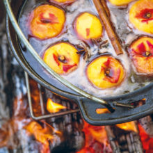 Jan Braai's Peaches In Port