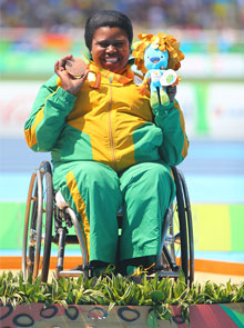 Rio Paralympics Medal Count For Team SA