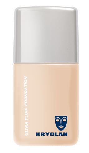 Best makeup products for your 30s: Kryolan Ultra Fluid Foundation, R406