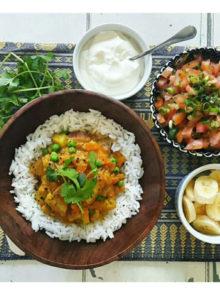 Lentil, Pea And Sweet Potato Curry Recipe