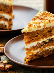 Chef Tjaart's carrot cake recipe