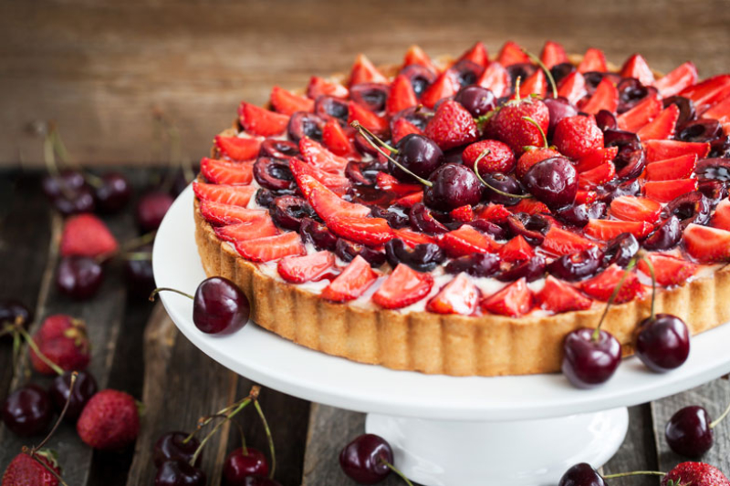 Chef Tjaart's Designer Fruit Tart Recipe