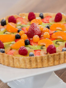 Hillary's Fruit Tart With Lemon Curd Mascarpone Crème Recipe