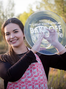 Cait McWilliams Wins The Great South African Bake Off!