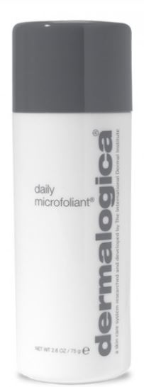 Best makeup products in your 40s: Jacqui recommends: Dermalogica Daily Microfoliant, R1,020, dermalogica.co.za