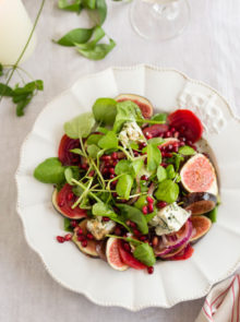 Fig And Beetroot Salad With Balsamic Dressing Recipe