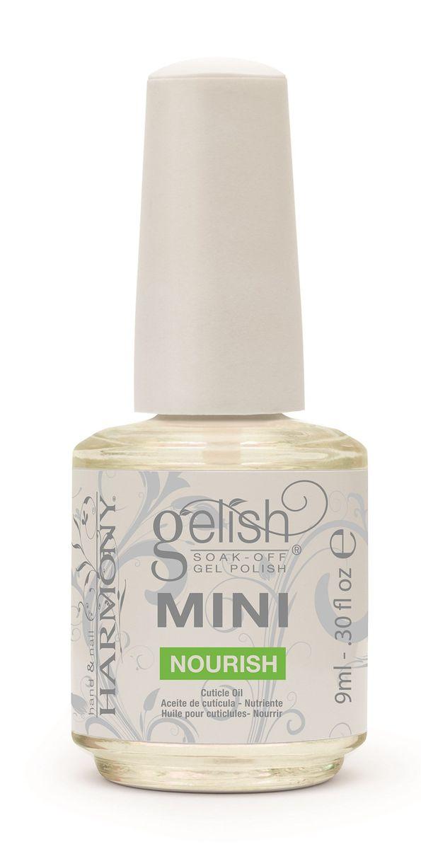 Gel nails at home: Gelish Mini Nourishing Cuticle Oil