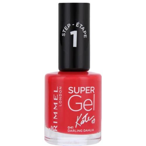 Gel nails at home: Rimmel Super Gel Nail Polish in Darling Dahlia