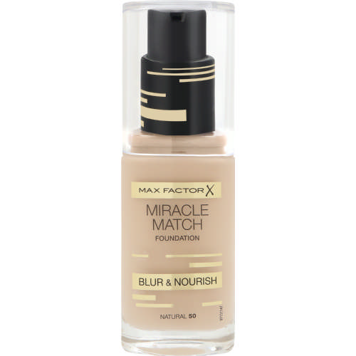best budget friendly foundation Max Factor Miracle Match Blur & Nourish Foundation, RRSP R175,95 for 30ml at Clicks