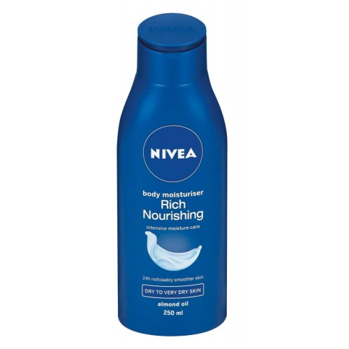 Best body lotions: NIVEA Rich Nourishing Body Moisturiser