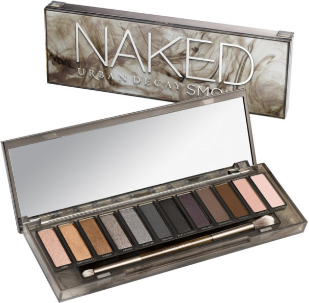 Best makeup products for your 40s: Urban Decay Naked Smoky Eyeshadow Palette, RRSP R850