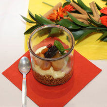 Jungle Oats Stewed Fruit Breakfast Parfait