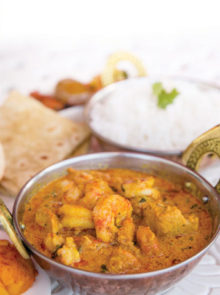 Kevin's Chicken and Prawn Curry recipe