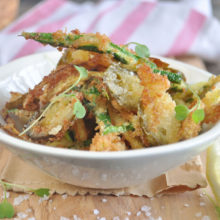 Courgette And Chilli Fries Recipe