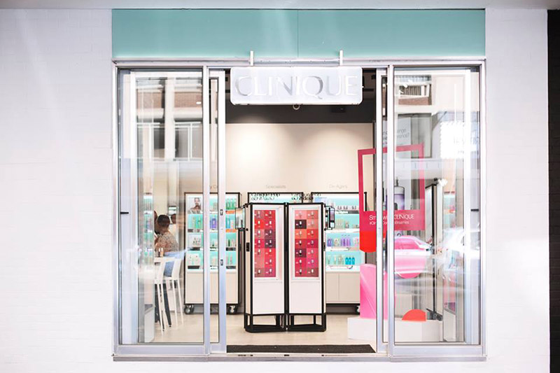 Express beauty: Clinique pop up store Braamfontein