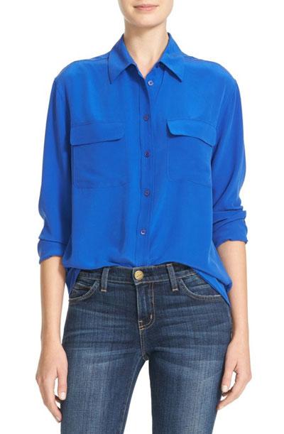 silk blouses