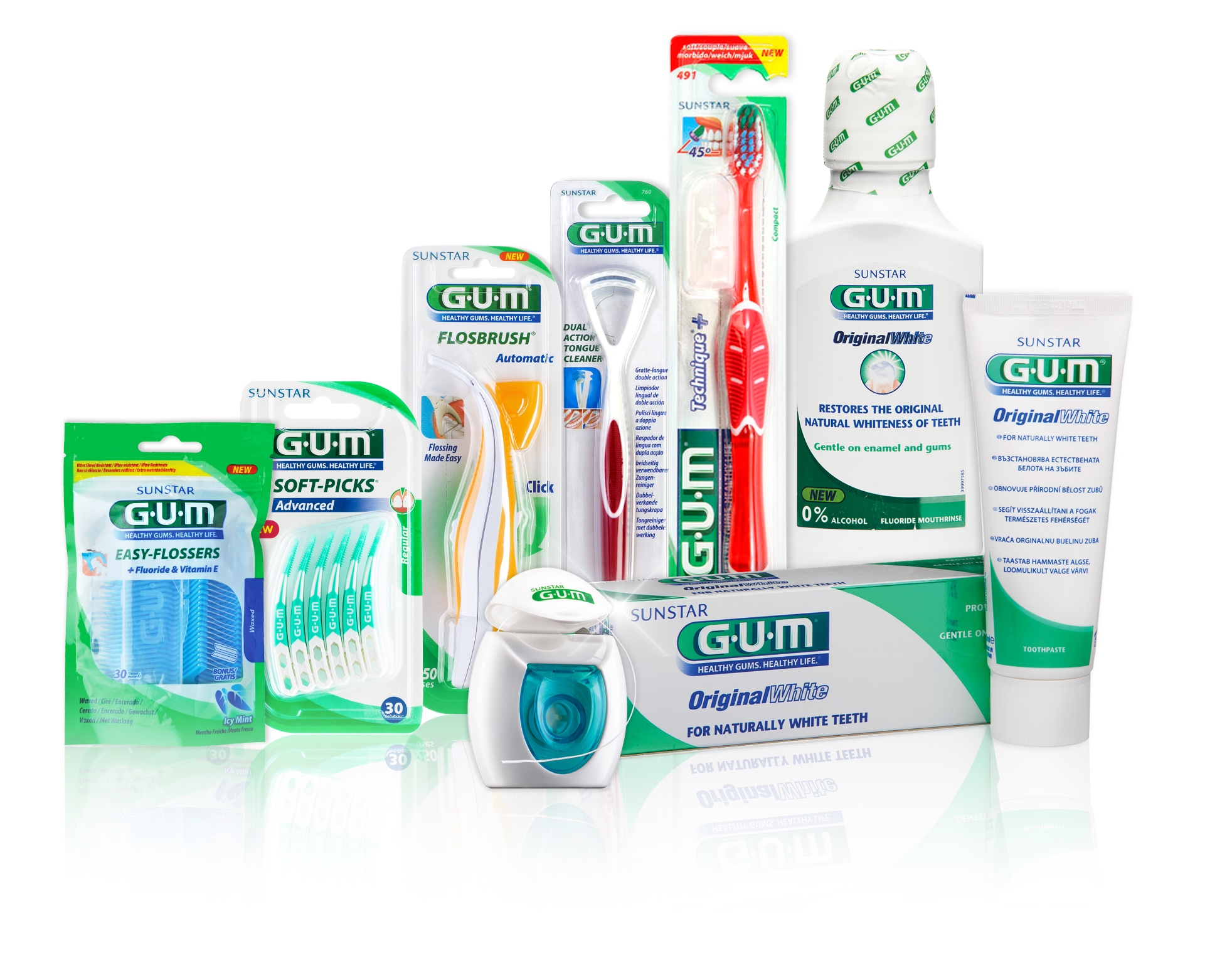 Win One Of Six Sunstar GUM Hampers, Worth Over R500 each!